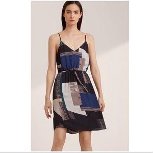 Aritzia Babaton Casimir Dress  Abstract Print S